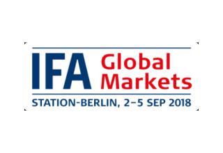 IFA 2018 – Global Markets 歐洲最大消費性電子展