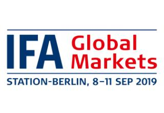 IFA 2019 – Global Markets 歐洲最大消費性電子展